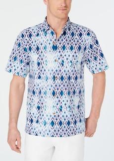 Tommy Bahama Men's Diamond Tide Regular-Fit Geo-Print Camp Shirt