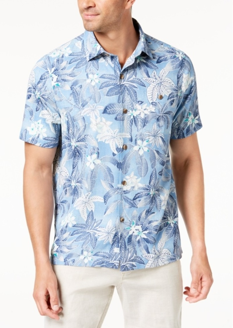 d2cf7498 Tommy Bahama Tommy Bahama Men's El Medano Jungle Silk Shirt | Casual ...
