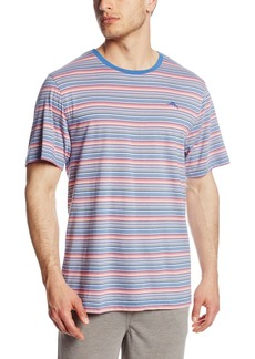 Tommy Bahama Men's Feeder Stripe Cotton Modal Jersey Knit Crew Neck T-Shirt