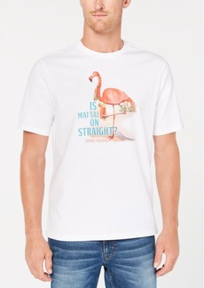 Tommy Bahama Men's Is Mai Tai on Straight Graphic T-Shirt