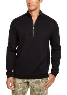 Tommy Bahama Men's Flip Side Classic-Fit Reversible Quarter-Zip Sweater, Created For Macy's