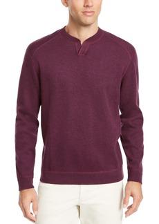 Tommy Bahama Men's Flip Side Classic-Fit Reversible Split-Neck Sweatshirt, Created For Macy's