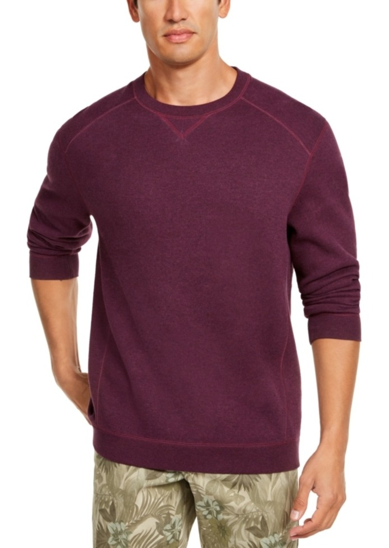 Tommy Bahama Men's Flip Side Classic-Fit Reversible Sweatshirt, Created For Macy's
