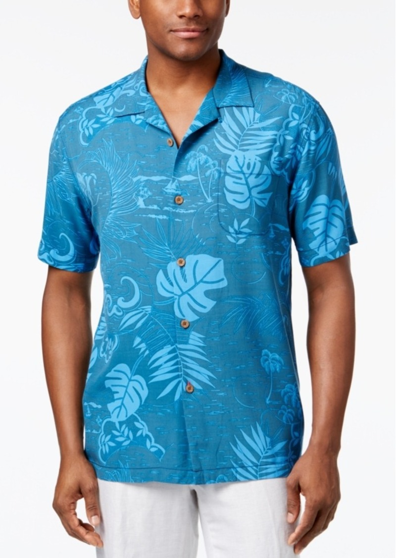 Tommy bahama tommy bahama men 39 s frondacy island shirt for Tommy bahama polo shirts on sale