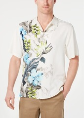 Tommy Bahama Men's Garden of Hope & Courage Silk Hawaiian Shirt