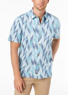 Tommy Bahama Men's Geo Celeste Camp Shirt
