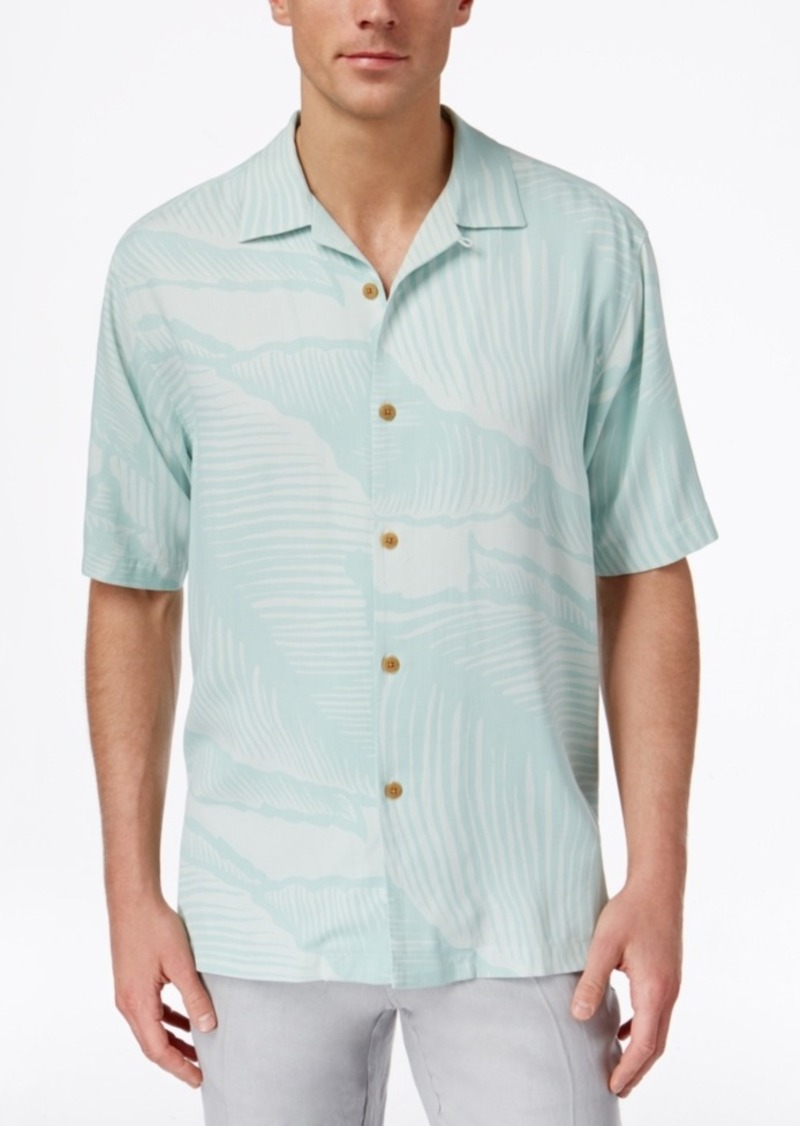 Tommy Bahama Men's Grande Fronde Silk Palm-Print Short-Sleeve Shirt, A Macy's Exclusive Style