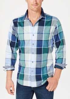 Tommy Bahama Men's Heredia Yarn-Dyed Plaid Shirt