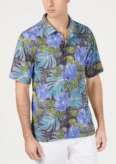 Tommy Bahama Men's Hibiscus Cove Tropical-Print Silk Camp Shirt