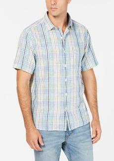 Tommy Bahama Men's Hideaway Palms Plaid Shirt