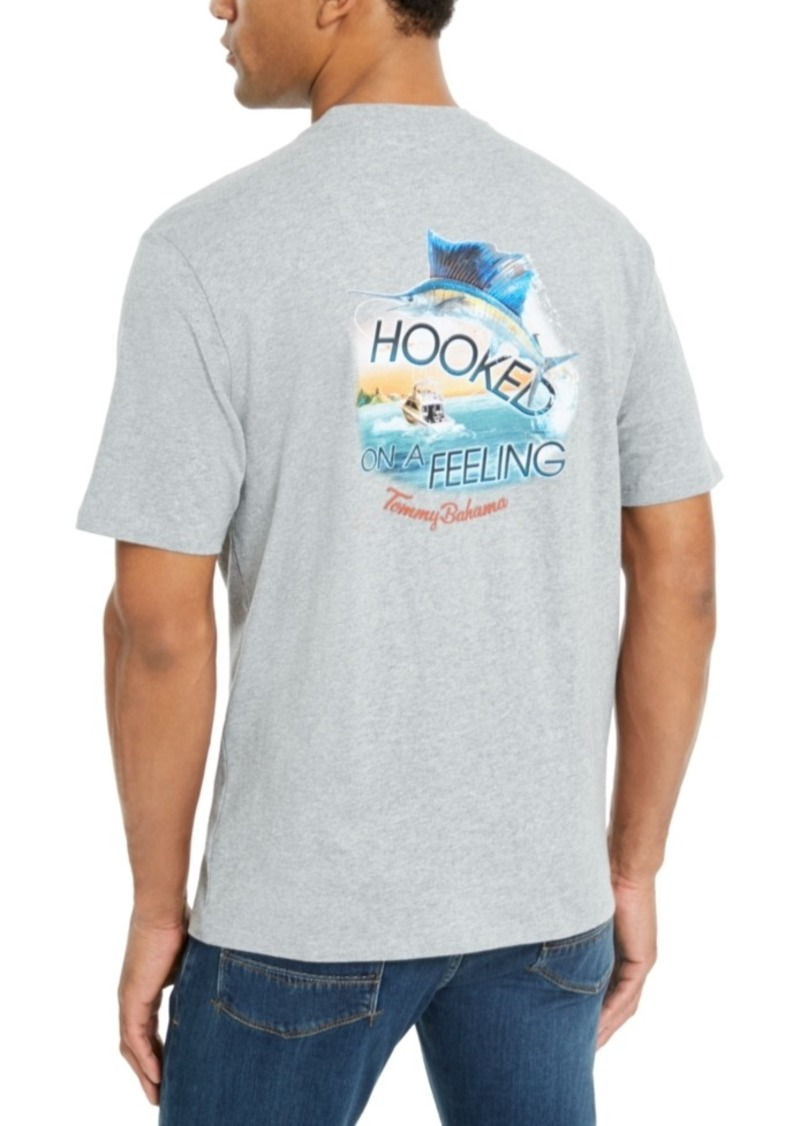 Tommy Bahama Men's Hooked On A Feeling Logo Graphic T-Shirt