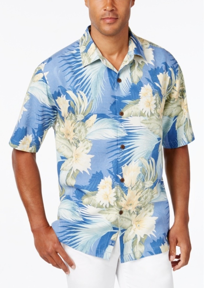 Tommy Bahama Men's Island Luau Silk Short-Sleeve Shirt, A Macy's Exclusive Style