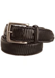 Tommy Bahama Men's Largo Woven Laid Belt