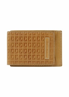 Tommy Bahama Men's 100% Leather Slim Card Case Carrier Wallet