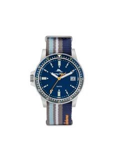 Tommy Bahama Men's Madeira Island Anglers Sport Multi Nylon Strap Watch, 45mm