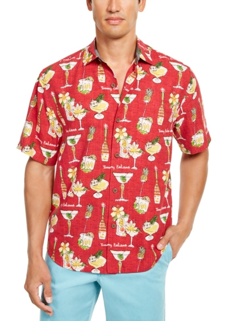 Tommy Bahama Men's Merry Martini Graphic Shirt