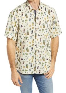 Tommy Bahama Men's Mixer Short Sleeve Button-Up Shirt