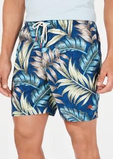 """Tommy Bahama Men's Naples Parque Palms 6"""" Swim Trunks"""
