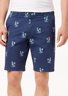 "Tommy Bahama Men's Novelty Hula Embroidered 10"" Stretch Shorts"
