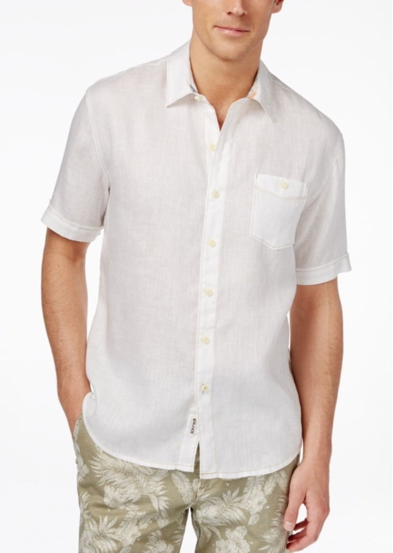Tommy Bahama Men's Party Breezer Linen Short-Sleeve Shirt