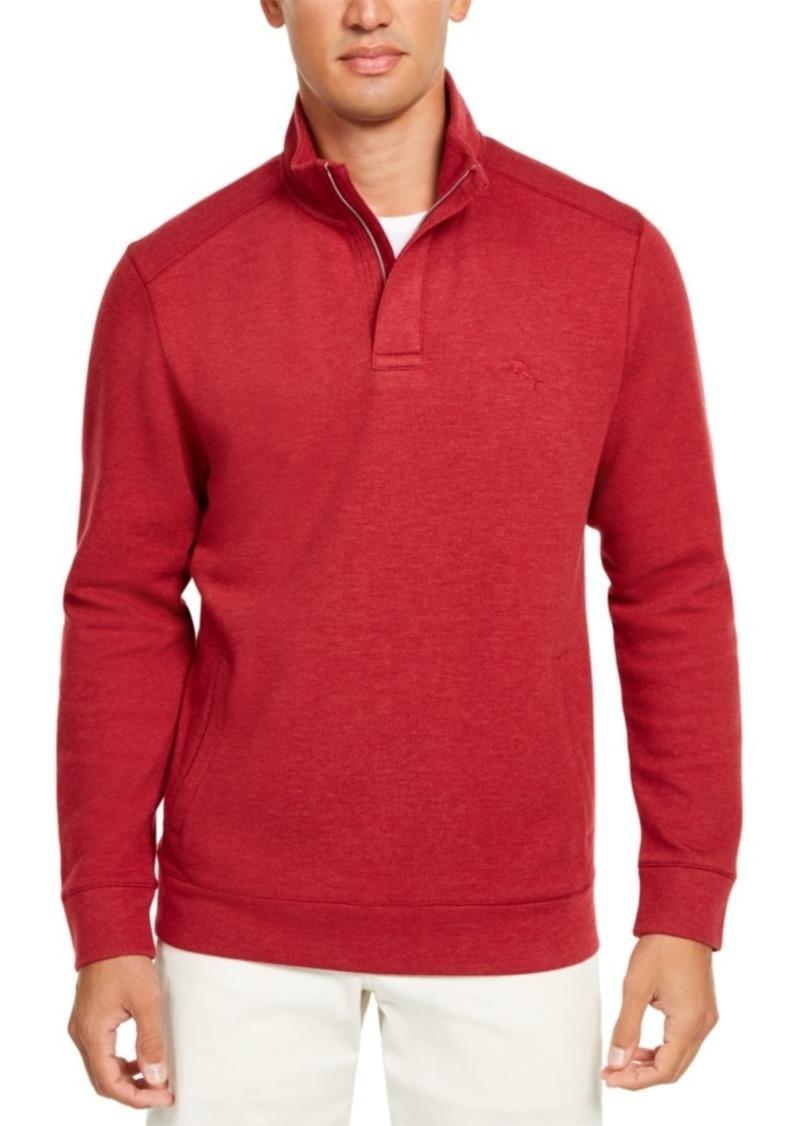 Tommy Bahama Men's Playa Pina Port Quarter-Zip Sweatshirt, Created For Macy's
