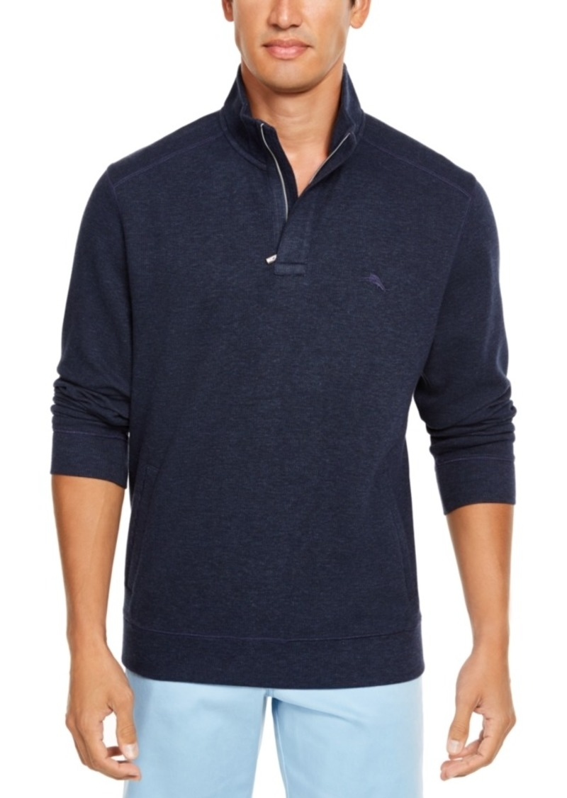 Tommy Bahama Men's Playa Pina Port Quarter-Zip Sweatshirt, Created For Macy's