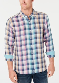 Tommy Bahama Men's Polynesian Plaid Shirt
