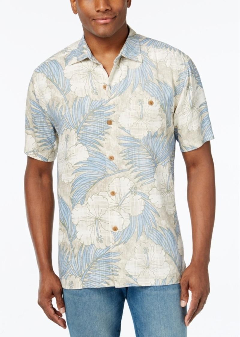Tommy Bahama Men's Printed Hibiscus Shirt