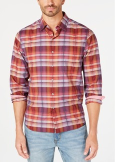 Tommy Bahama Men's Puerto Prism Plaid Shirt