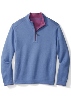 Tommy Bahama Men's Quarter-Zip Flip Shore Shirt
