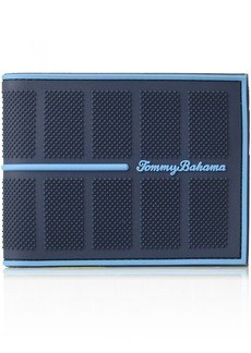 Tommy Bahama Men's Rubber Slimfold Wallet