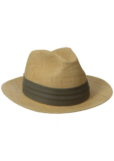Tommy Bahama Men's Safari Raffia Hat  Small/Medium