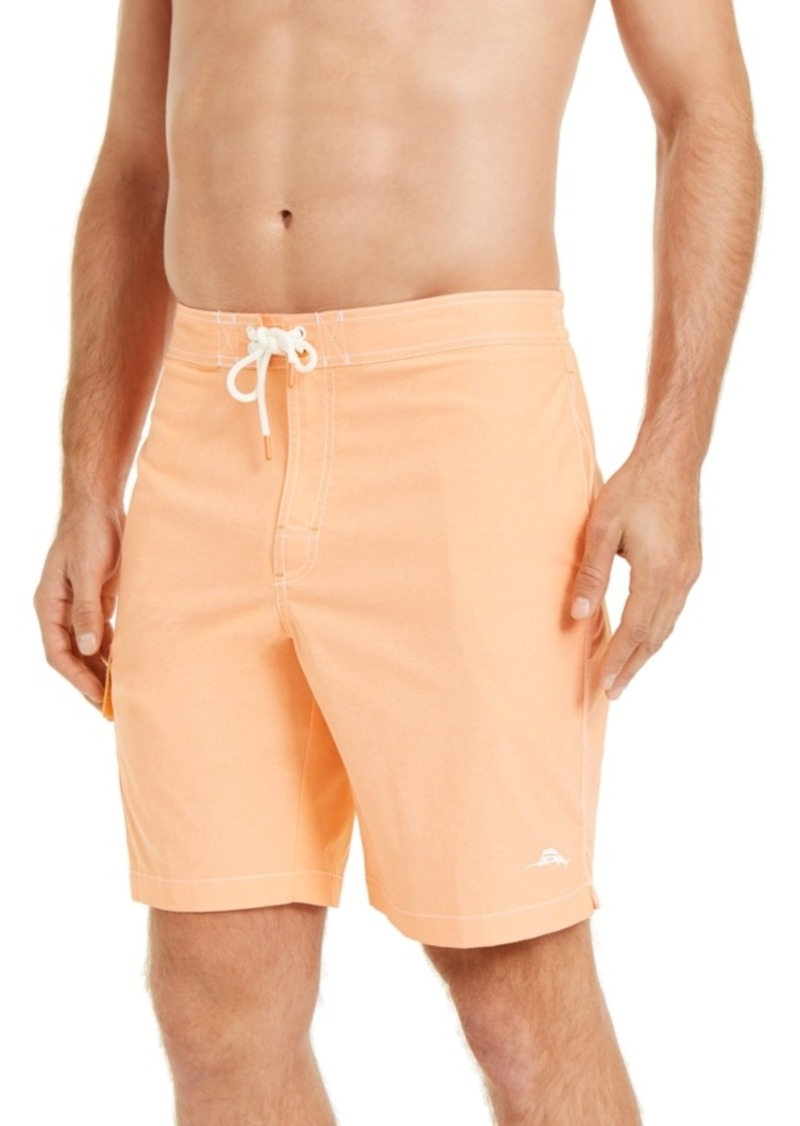 "Tommy Bahama Men's Sea Glass Baja Stretch Upf 30 9"" Board Shorts"