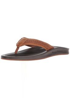 Tommy Bahama Men's Shallows Edge Flip-Flop tan  D US