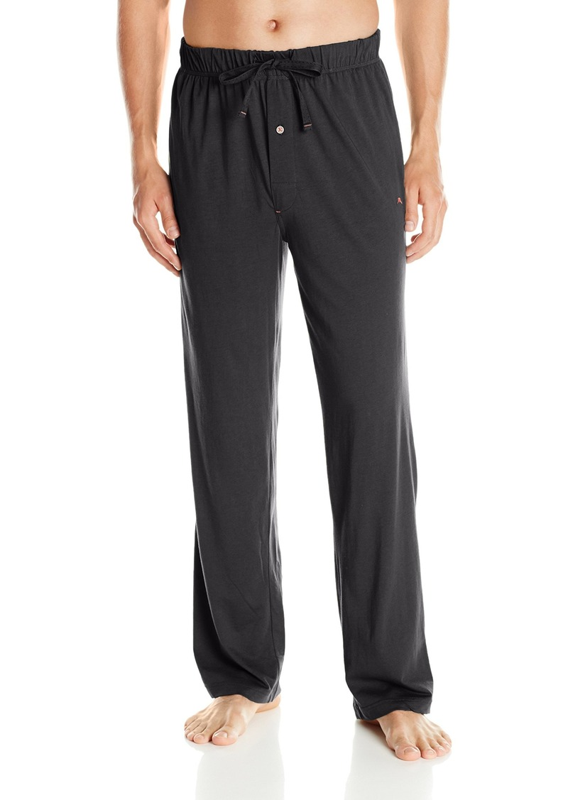 Tommy Bahama Men's Solid Cotton Modal Jersey Basic Pant  Small