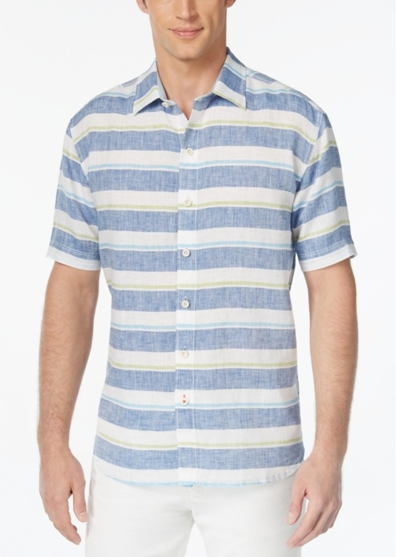 Tommy Bahama Men's Staysail Breezer Linen Shirt