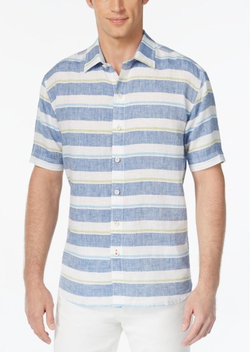 Tommy Bahama Men's Staysail Breezer Linen Shirt