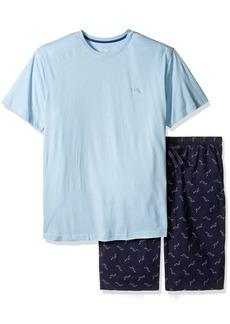 Tommy Bahama Men's Tall Size Woven Jam Knit Tee Set