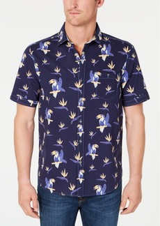 Tommy Bahama Men's Toucan Do Tropical Stripe Print Shirt