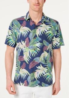 82433457a93 Tommy Bahama Men s Wallis Tropics Classic Fit IslandZone Hawaiian Camp Shirt