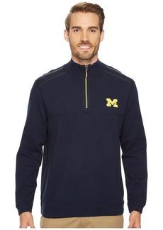 Tommy Bahama Michigan Wolverines Collegiate Campus Flip Sweater