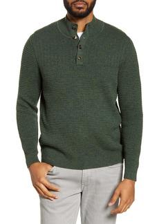 Tommy Bahama Mock Neck Henley Sweater