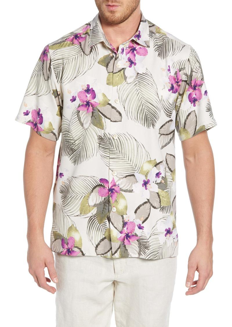 Tommy Bahama Monterosso Beach Print Silk Shirt