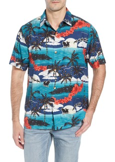 Tommy Bahama Moonlight In Paradise Silk Camp Shirt
