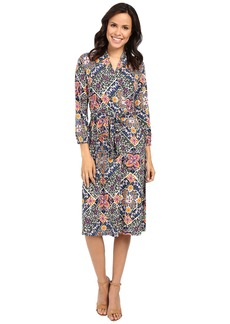 Tommy Bahama Mosaic Relief 3/4 Sleeve Dress
