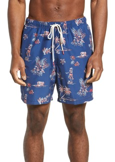 Tommy Bahama Naples Hula Hut Classic Fit Swim Trunks