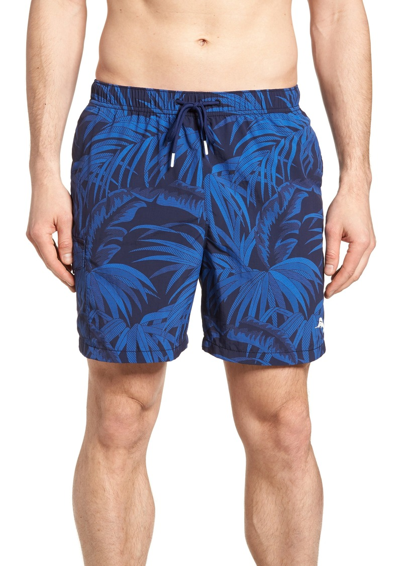 5edfbf8ced Tommy Bahama Tommy Bahama Naples Midnight Flora Swim Trunks | Swimwear