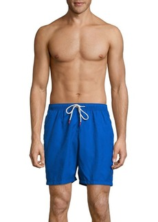 Tommy Bahama Naples Midnight Monstera Elastic Waist Swim Trunks
