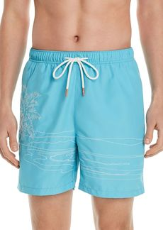 Tommy Bahama Naples on the Beach Embroidered Swim Trunks