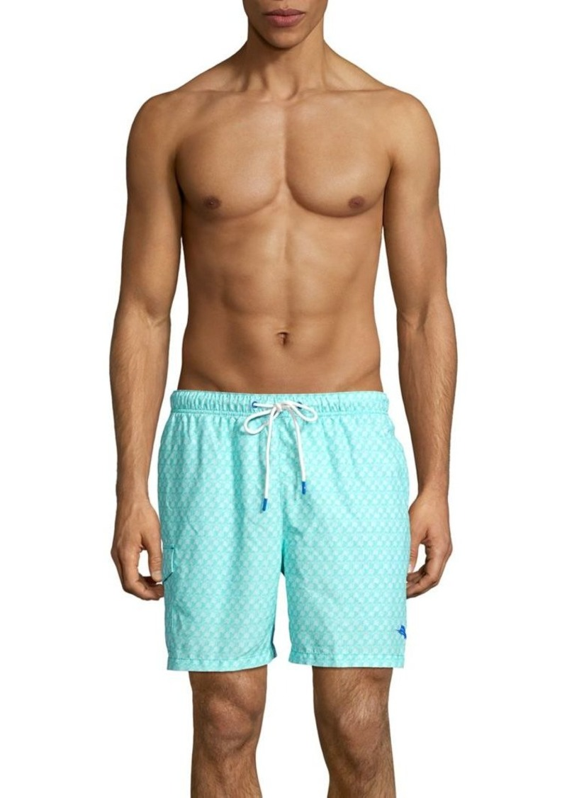 Tommy Bahama Naples Palms Away Geo Swim Trunks